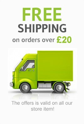Free Delivery on orders over £20